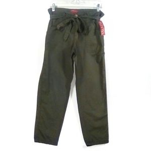 Merona - olive stuffed tie casual ankle pants